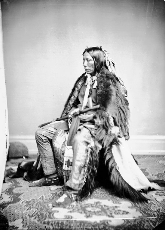 Feather In The Ear - Yankton Dakota 1867
