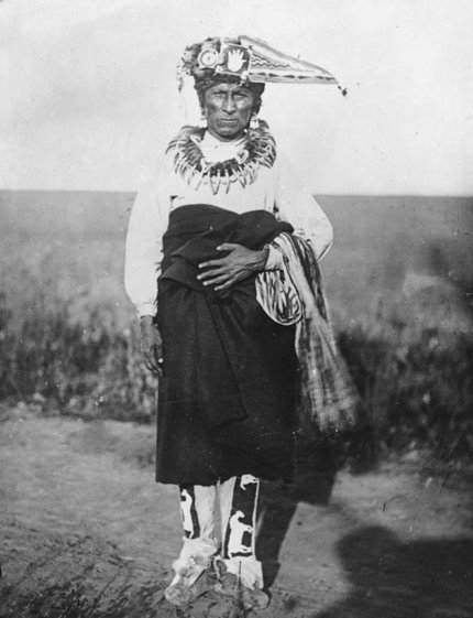 American Indians : Gahhi'Ge (The Chief) - Omaha 1869.