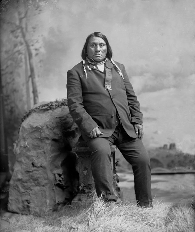 American Indians : Gall - Hunkpapa 1888.