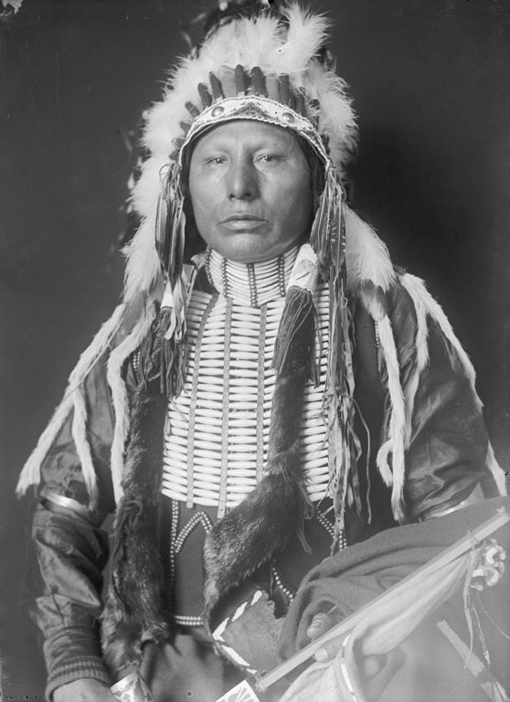 American Indians : Horse Chief (Son of White Eagle) - Ponca 1906.