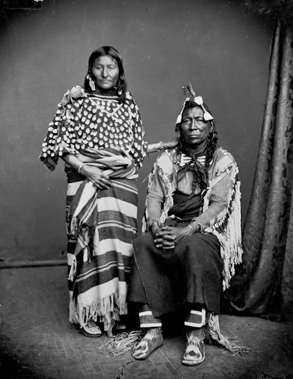 Iron Bull and Wife - Crow 1873