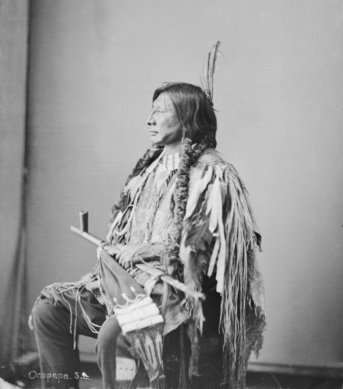 American Indians : Iron Horn - Hunkpapa 1872.