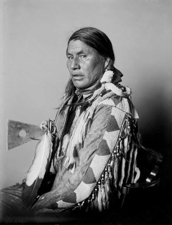 American Indians : Little Dog - Blackfoot 1903.