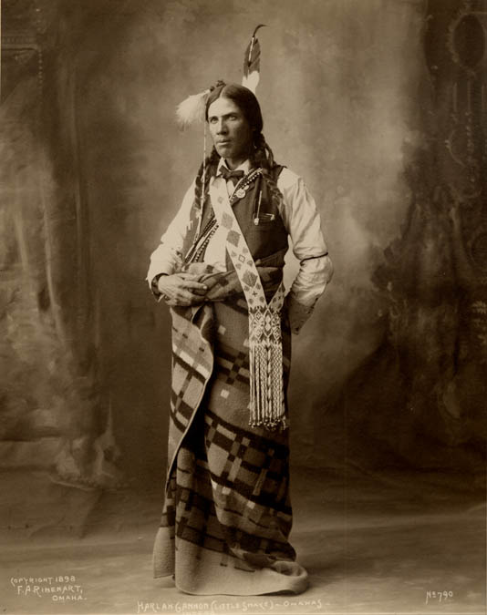 American Indians : Little Snake - Omaha 1898.