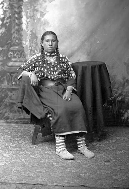 American Indians : Mary - Gros Ventre 1880.