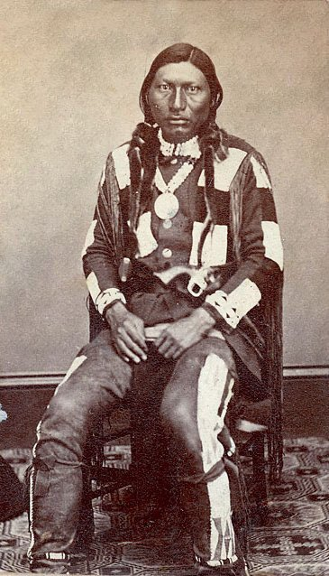 American Indians : Nick A Agod (Green Leaf) - Ute 1879.