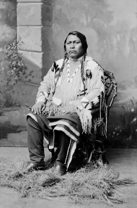 American Indians : Ouray - Ute 1878.