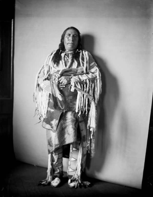American Indians : Owl Child - Blackfoot 1903.