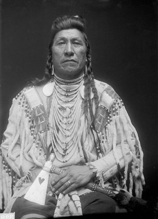 American Indians : Plain Owl - Crow 1910.
