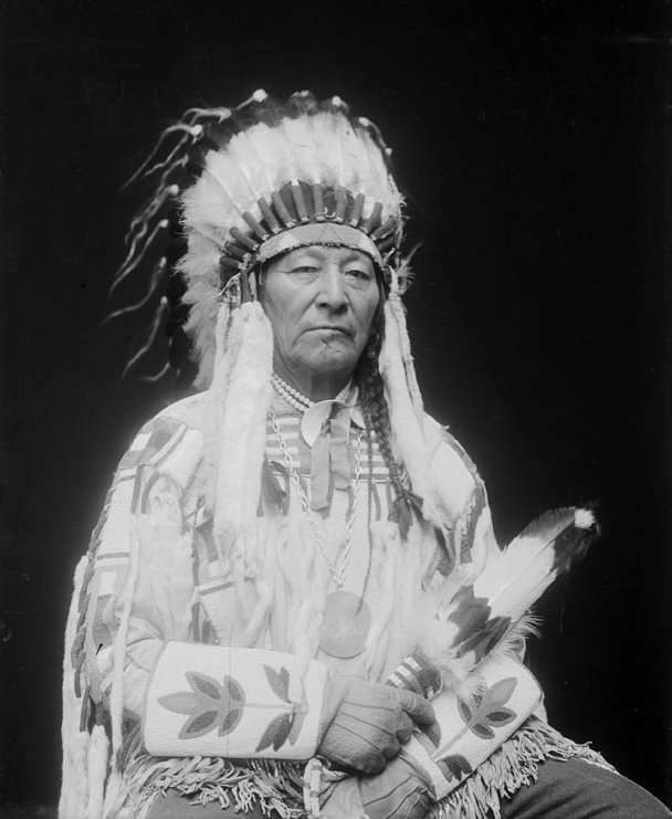 American Indians : Plenty Coups - Crow 1913.