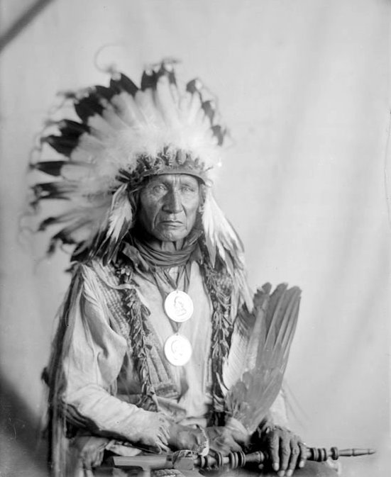 American Indians : Red Fish - Yankton Santee 1912.