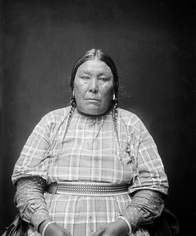 American Indians : Rosa Heavy Breast - Blackfoot 1923.
