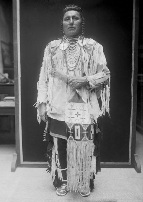 American Indians : Sees With His Ears - Crow 1910.
