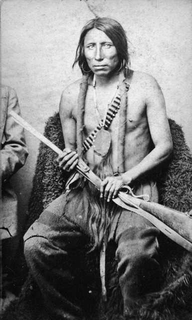 American Indians : Spotted Eagle, Sitting Bulls Head Chief During The Late Indian War.
