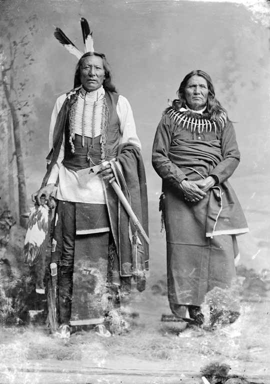 American Indians : White Eagle, Standing Bear - Ponca.