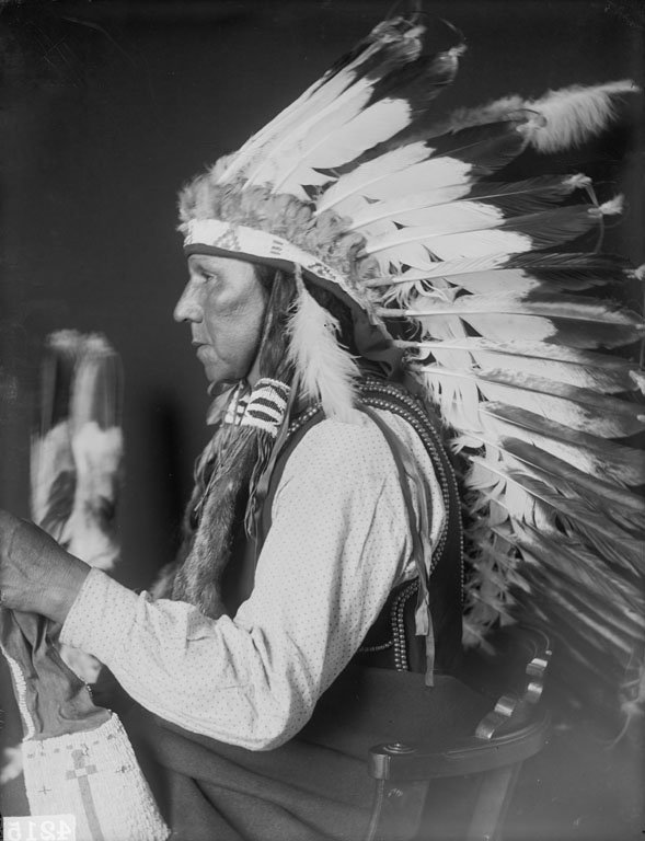 American Indians : White Tail - Ponca 1906.
