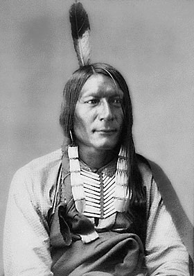 American Indians : Wicked Bear - Sicangu 1872.
