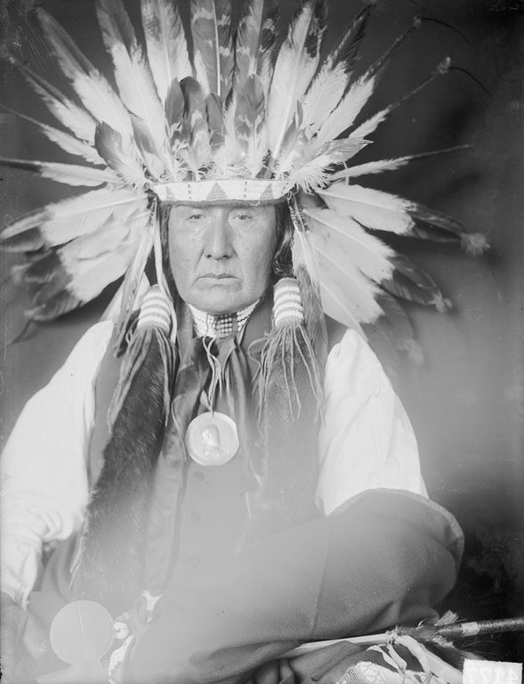 American Indians : Yellow Horse (Brother of Standing Bear) - Ponca 1906.