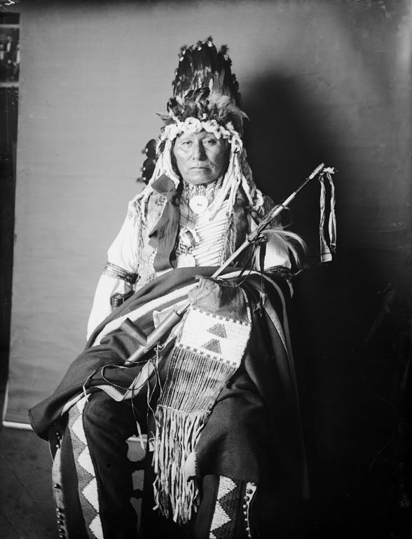 American Indians : Yellow Thunder - Yankton Dakota 1905.