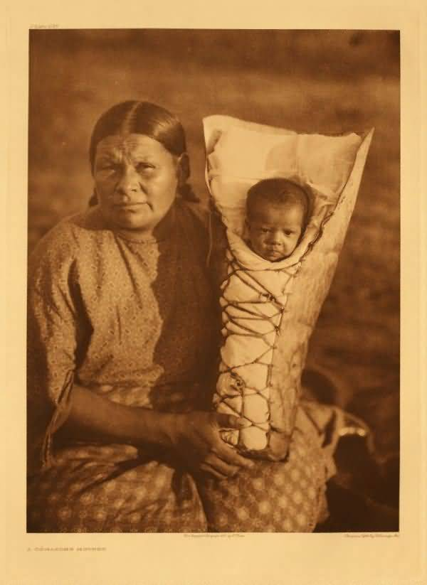 A Comanche Mother.