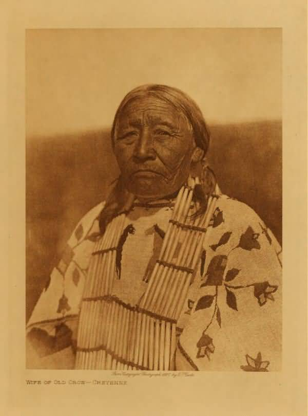 Wife of Old Crow, Cheyenne.