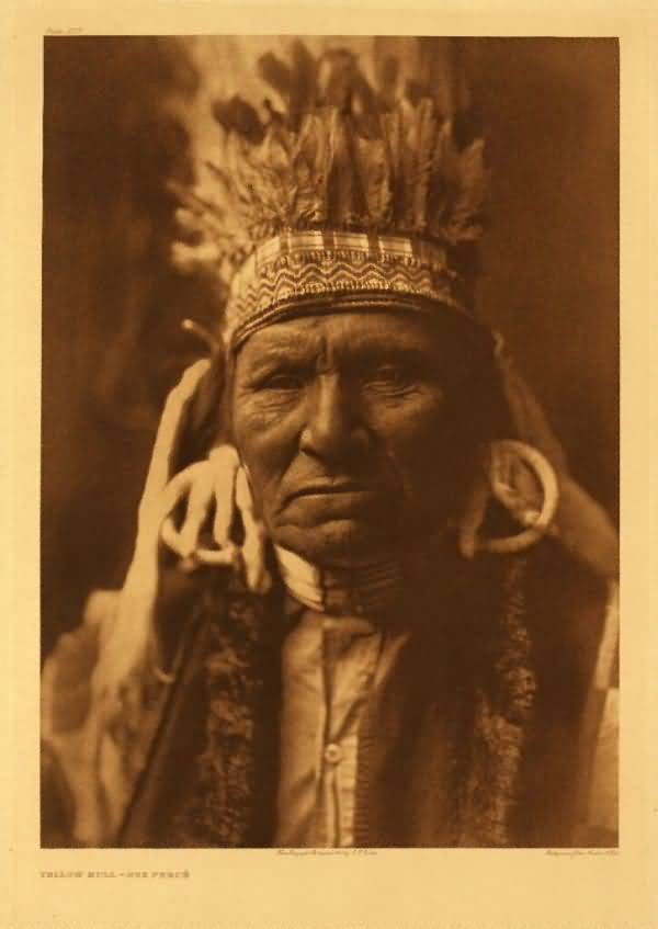 Yellow Bull, Nez Perce.