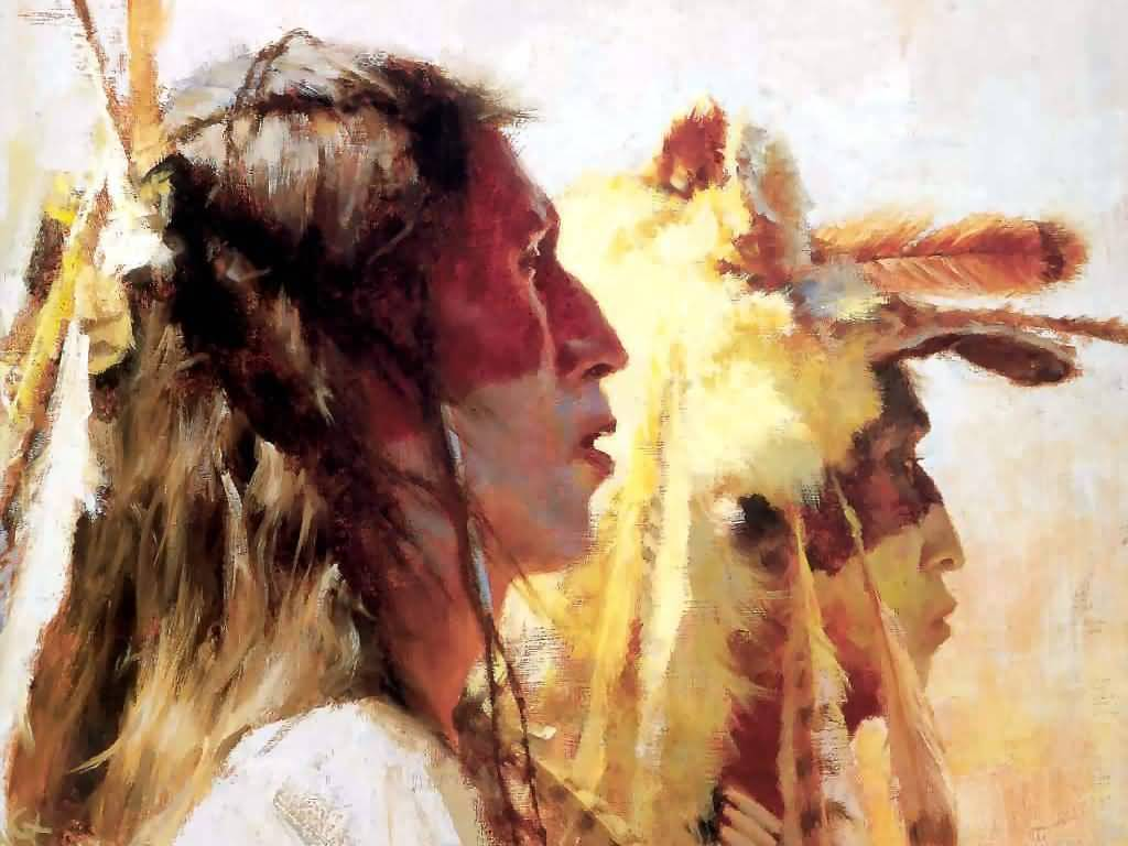 Howard Terpning - Proud Men.
