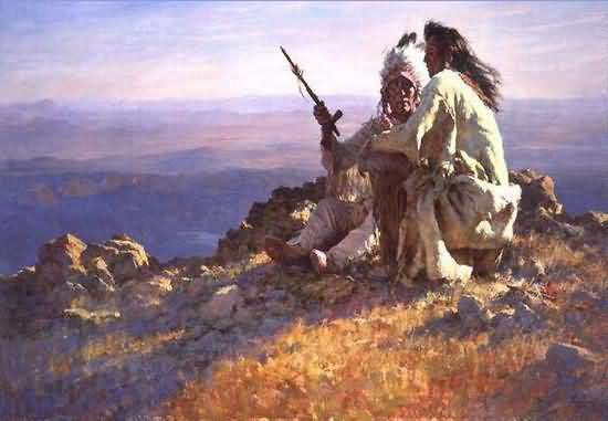 Howard Terpning - Telling Of The Legends.