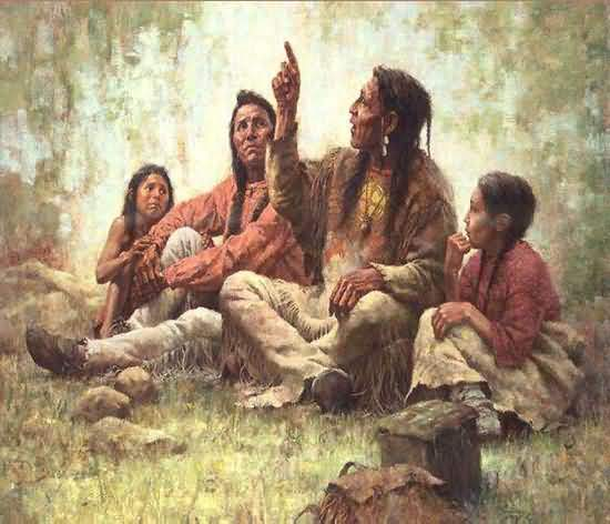 Howard Terpning - The Storyteller.