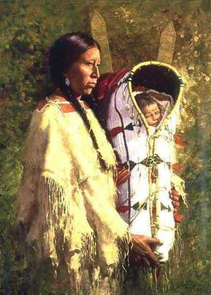 Howard Terpning - Pride Of The Cheyenne.