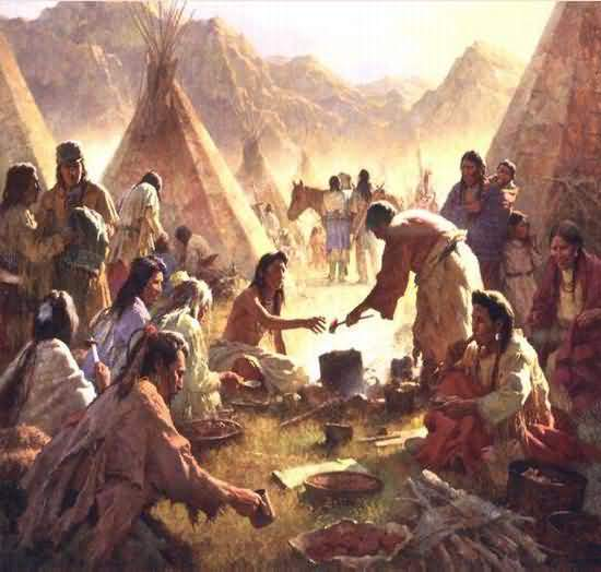 Howard Terpning - The Feast.