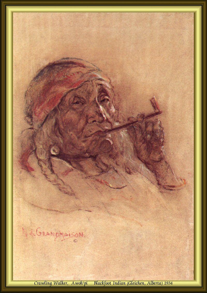 Nicholas de Grandmaison - Crawling Walker, Awoh'pi