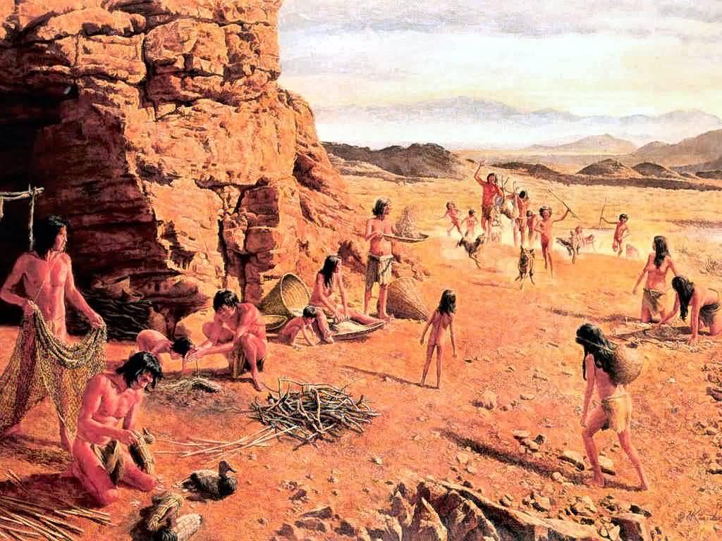 Mort Künstler : Ancestors Of The Paiute