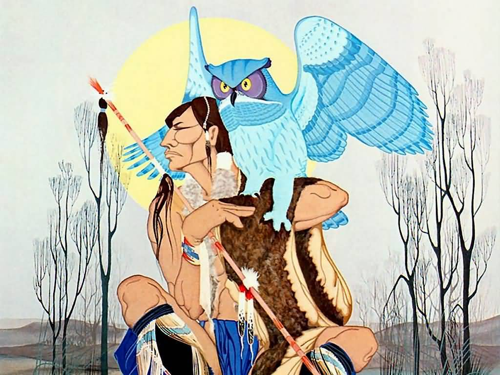 francis blackbear bosin blackbear of the owls telling kiowa