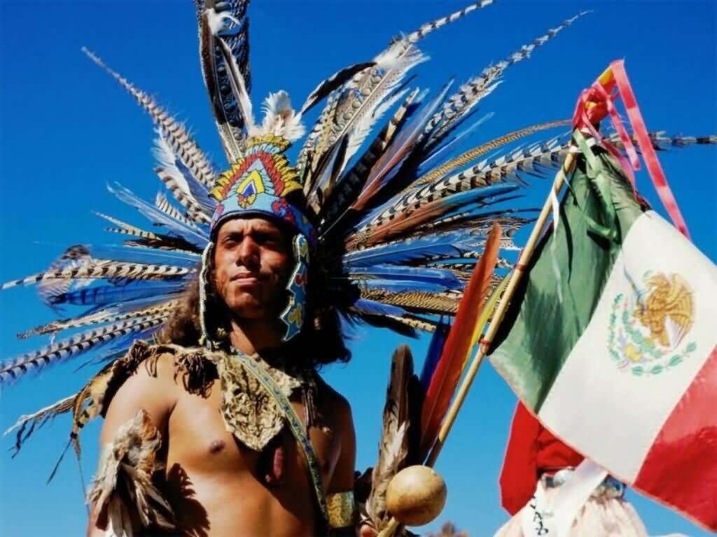 Aztec Indian Window Rock