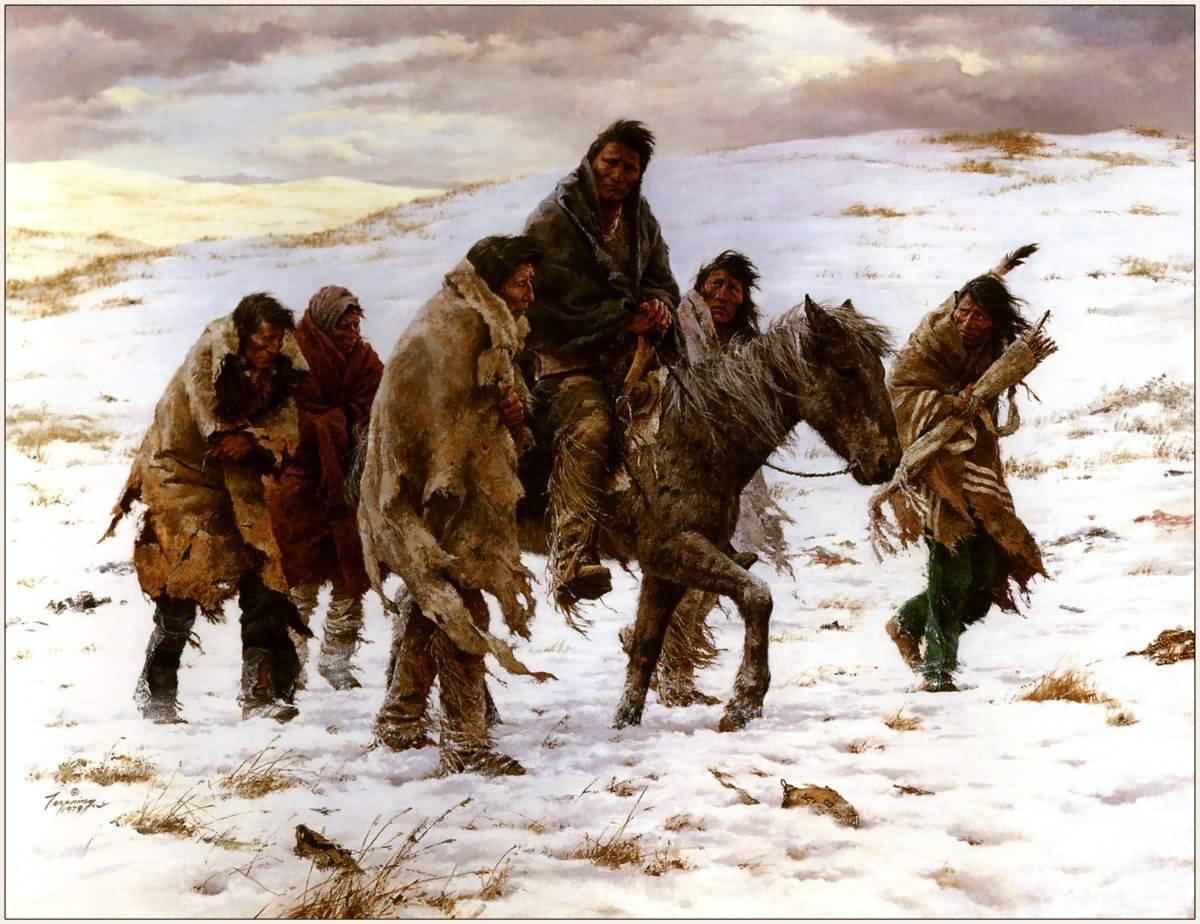 howard terpning chief joseph rides to surrender