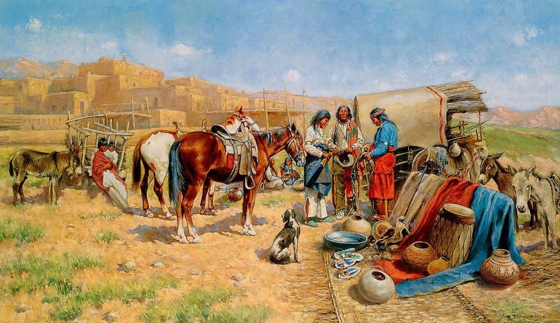 John Hauser : Indian Traders.