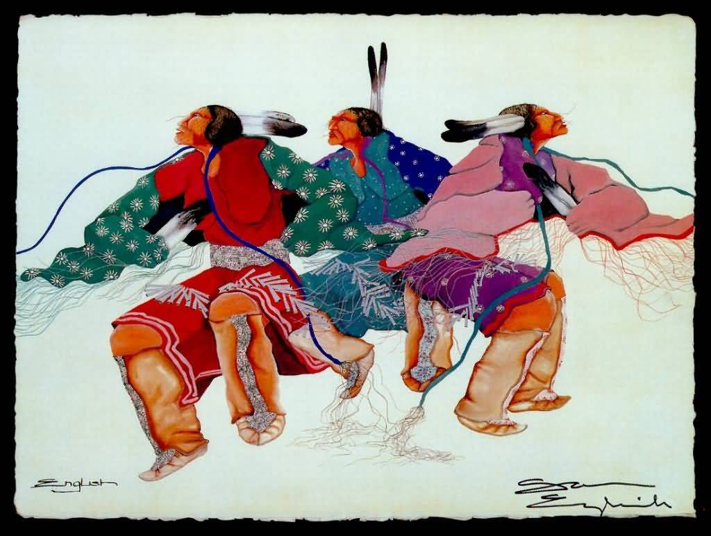 Sam English : Native American Visions.