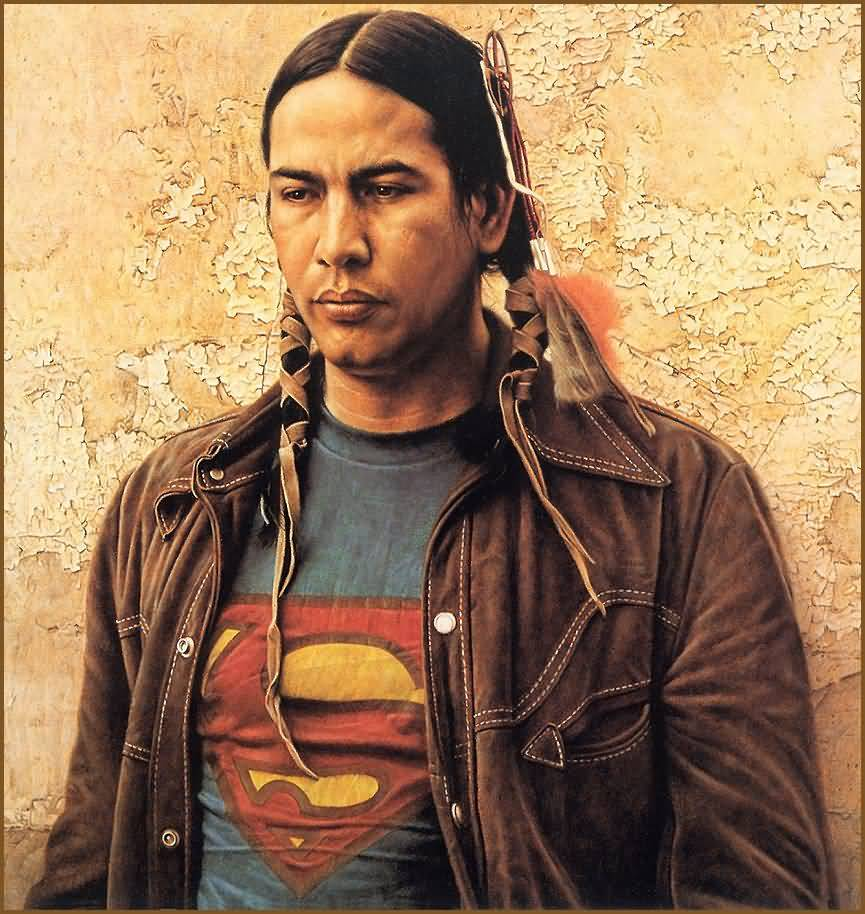 James Bama  A Sioux Indian   Indian
