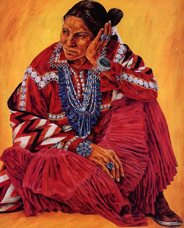 Ethelinda Robbins  Navajo   Navajo