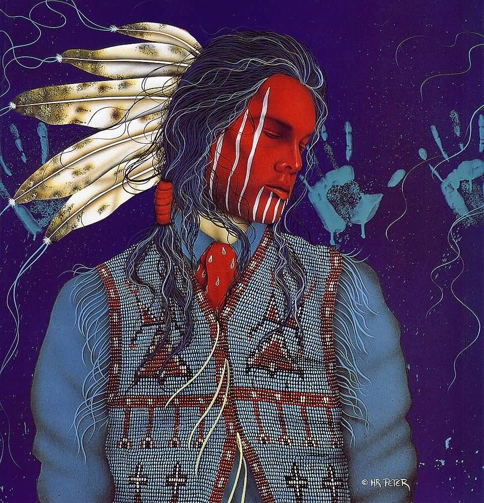 Henri Peter : Oglala Dreams.