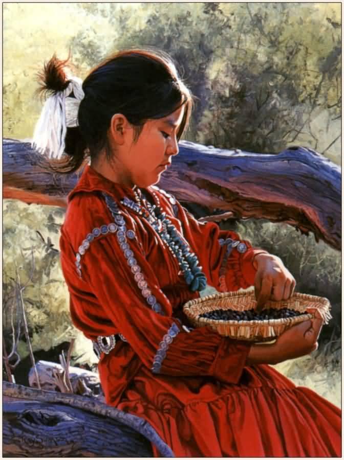 Ray Swanson Pinon Harvest