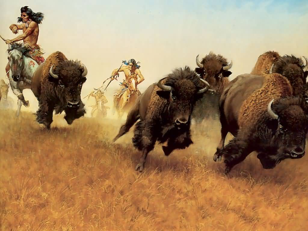 Frank McCarthy : The Buffalo Runners.