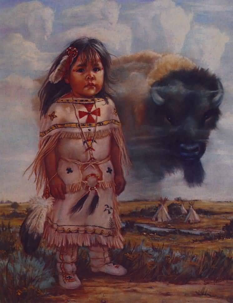 Carol Theroux - Buffalo Child.