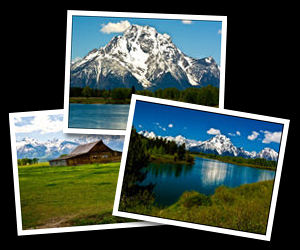Grand Teton National Park Photographs.