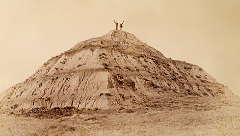 Pyramid Butte near Fort Yates.