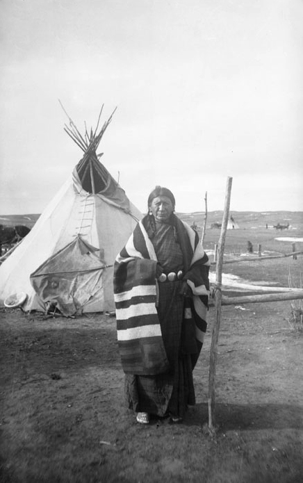 Lean Woman (wife of Red Cloud) - Oglala 1892.