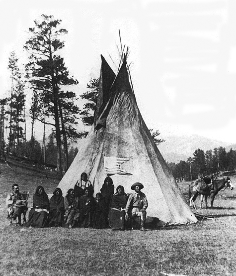 Sioux Prisoners from the Battle of Slim Buttes.