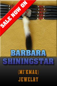 America Indian Jewelry by Barbara Shingingstar.