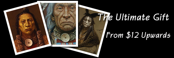 Native American giclee prints.